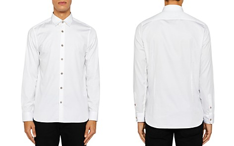 Ted Baker Bylly Satin Stretch Regular Fit Button-Down Shirt - Bloomingdale's_2