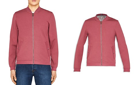 Ted Baker Wolf Bonded Jersey Bomber - Bloomingdale's_2
