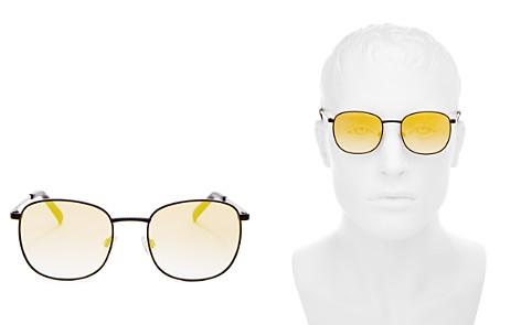 Le Specs Men's Neptune Polarized Square Sunglasses, 49mm - Bloomingdale's_2