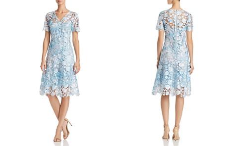 Elie Tahari Samari Lace Fit-and-Flare Dress - Bloomingdale's_2