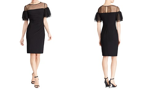 Lauren Ralph Lauren Illusion Swiss Dot Dress - Bloomingdale's_2