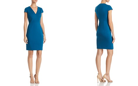 T Tahari Elizabella Seamed Sheath Dress - Bloomingdale's_2