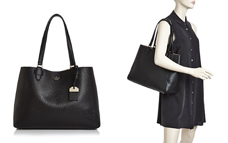 kate spade new york Carter Street Leather Tyler Tote - Bloomingdale's_2