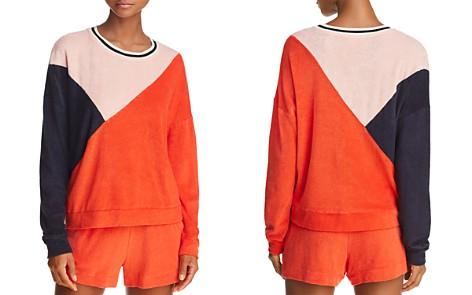 Splendid x Margherita Color-Block Terry Sweatshirt - Bloomingdale's_2