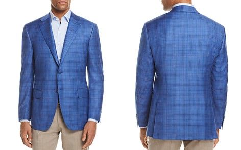 Canali Tonal Plaid Classic Fit Sport Coat - Bloomingdale's_2