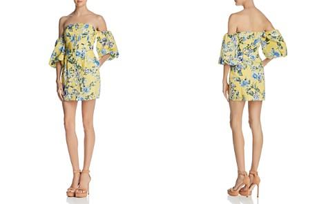 JOA Balloon Sleeve Off-the-Shoulder Dress - Bloomingdale's_2