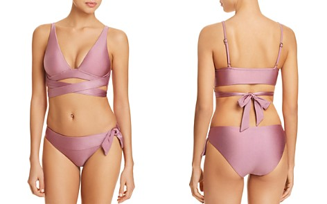 BECCA® by Rebecca Virtue Ballerina Wrap Bikini Top & Ballerina Side Tie Bikini Bottom - Bloomingdale's_2