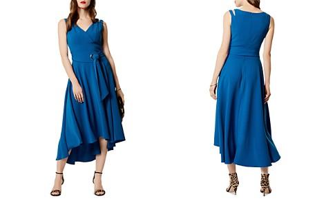 KAREN MILLEN Belted High/Low Midi Dress - Bloomingdale's_2