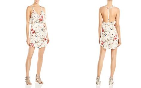 Haute Hippie Narrow Escape Ruffled Floral-Print Silk Mini Dress - Bloomingdale's_2