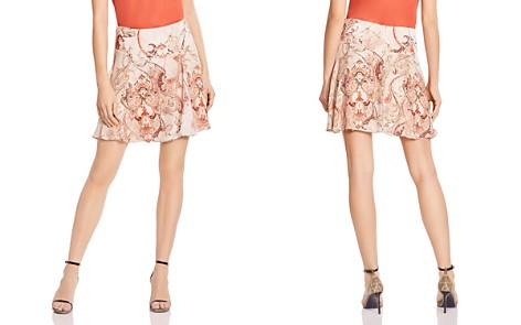 Haute Hippie Faye Printed Silk A-Line Skirt - Bloomingdale's_2