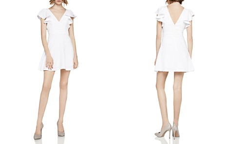 BCBGeneration Ruffle-Sleeve Fit-and-Flare Dress - Bloomingdale's_2