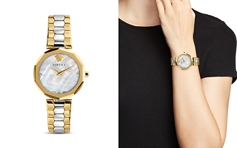 Versace Idyia Two Tone Watch, 36mm - Bloomingdale's_2
