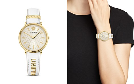 Versace Manifesto Edition Watch with Interchangeable Straps, 38mm - Bloomingdale's_2