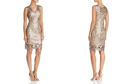 Tadashi Shoji Petites Sequin Embellished Dress - Bloomingdale's_2