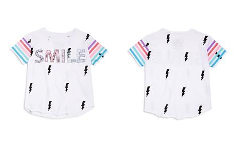 CHASER Girls' Embellished Smile Lightning-Print Tee - Little Kid, Big Kid - Bloomingdale's_2