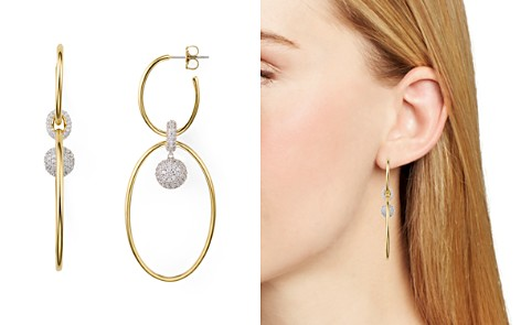 Nadri Large Oval Double Hoop Earrings - Bloomingdale's_2