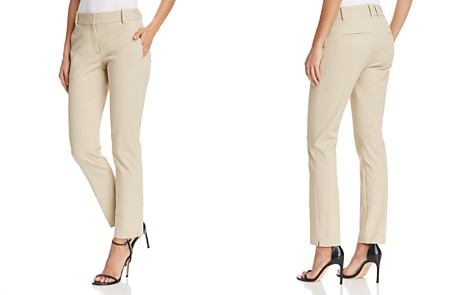 Theory Straight Ankle Pants - Bloomingdale's_2