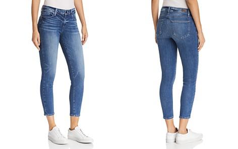 PAIGE Verdugo Crop Skinny Jeans in Bloomfield - Bloomingdale's_2