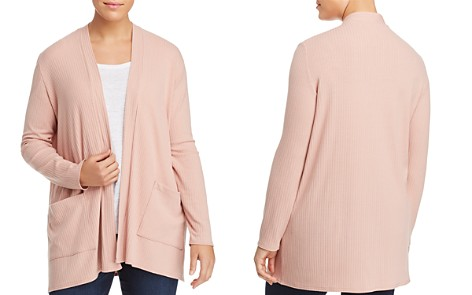 Love Ady Plus Ribbed Open-Front Cardigan - 100% Exclusive - Bloomingdale's_2