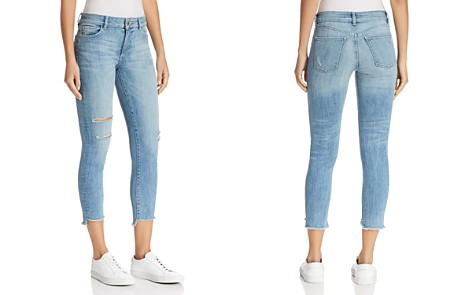 DL1961 Florence Instasculpt Crop Skinny Jeans in Hendrix - Bloomingdale's_2