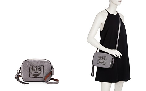 COACH 1941 x Keith Haring Three-Eyed Metallic Leather Camera Bag - 100% Exclusive - Bloomingdale's_2