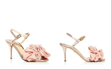 Charlotte Olympia Women's Reia Leather & Chiffon Slingback High Heel Sandals - Bloomingdale's_2