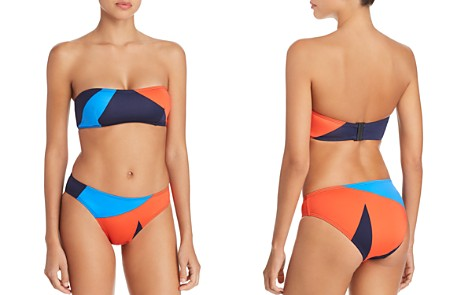 Mei L'ange Micah Bandeau Bikini Top & Bikini Bottom - Bloomingdale's_2