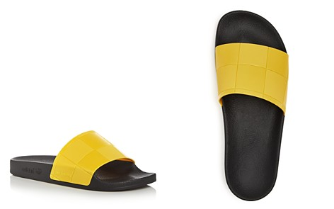 Raf Simons for Adidas Men's Adilette Checkerboard Slide Sandals - Bloomingdale's_2