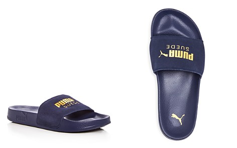 PUMA Men's Leadcat Suede Slide Sandals - Bloomingdale's_2