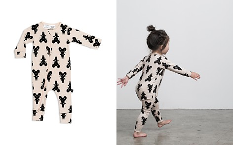 Huxbaby Girls' Mouse-Print Romper - Baby - Bloomingdale's_2