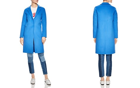 Sandro Dilan Single-Button Coat - Bloomingdale's_2