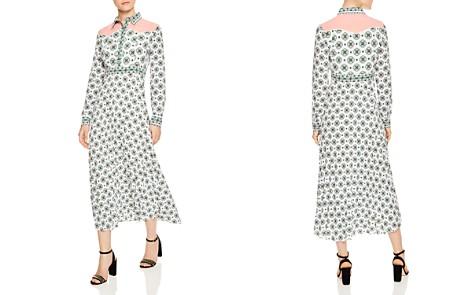 Sandro Louka Mosaic-Print Midi Dress - Bloomingdale's_2
