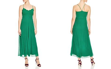 Sandro Roxana Scalloped Maxi Dress - Bloomingdale's_2