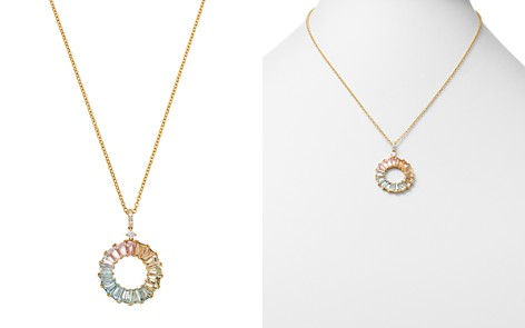 "Kiki McDonough 18K Yellow Gold Rainbow Mixed Gemstone & Diamond Necklace, 18"" - Bloomingdale's_2"