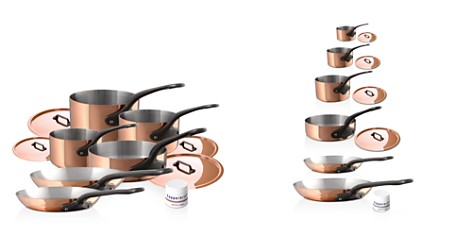 Mauviel M'250c Copper 10-Piece Cookware Set - Bloomingdale's_2