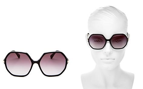 Longchamp Women's Le Pliage family Square Sunglasses, 59mm - Bloomingdale's_2