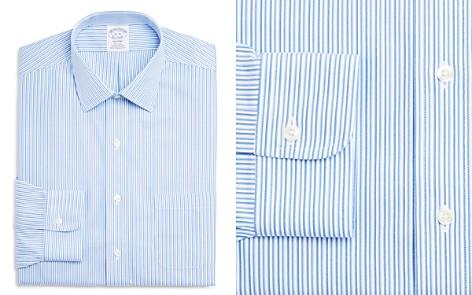 Brooks Brothers Tonal Stripe Regular Fit Dress Shirt - Bloomingdale's_2