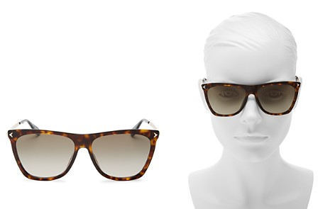 Givenchy Women's Flat Top Square Sunglasses, 57mm - Bloomingdale's_2