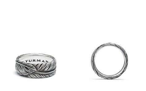 David Yurman Southwest Narrow Feather Band Ring - Bloomingdale's_2