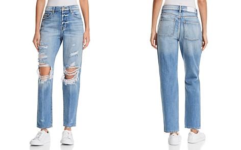 Pistola Presley High-Rise Distressed Girlfriend Jeans in Rock Or Bust - Bloomingdale's_2
