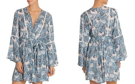 Midnight Bakery Floral Wrap Robe - Bloomingdale's_2