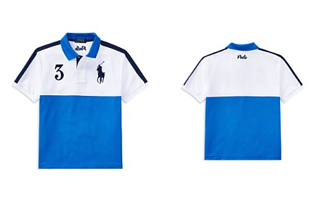 Polo Ralph Lauren Boys' Color-Blocked Tech Mesh Polo - Big Kid - Bloomingdale's_2