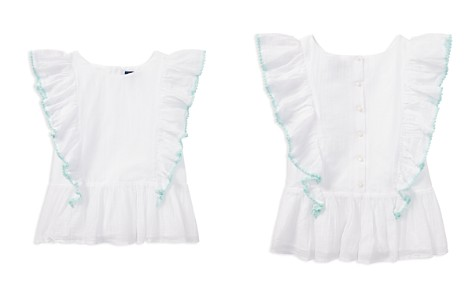 Polo Ralph Lauren Girls' Ruffled Top - Big Kid - Bloomingdale's_2