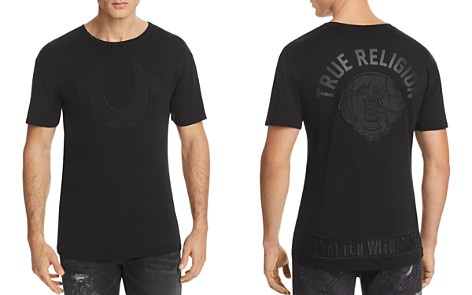 True Religion Buddha Face Logo Tee - Bloomingdale's_2