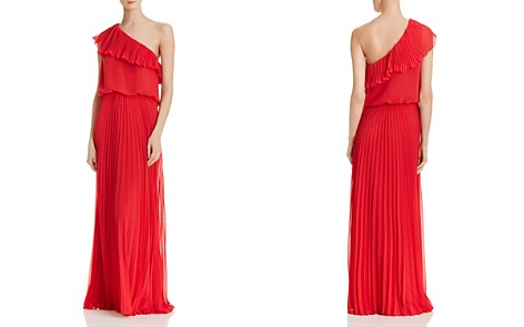 Avery G One-Shoulder Chiffon Gown - Bloomingdale's_2