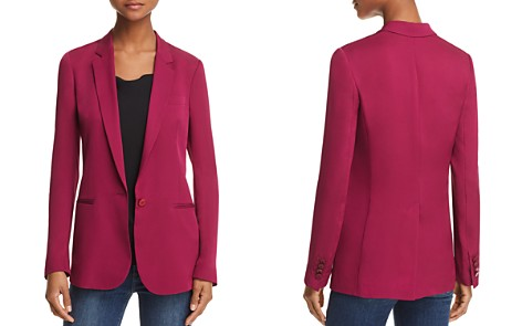 Theory Grinson Silk Blazer - Bloomingdale's_2