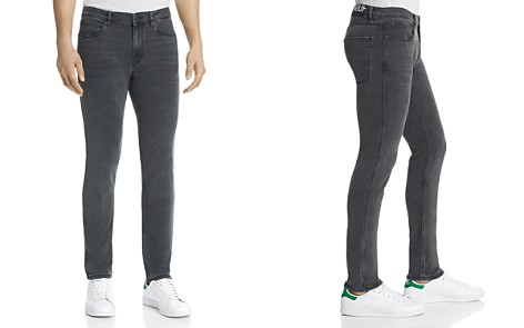 HUGO 734 Stretch Skinny Jeans in Black - Bloomingdale's_2