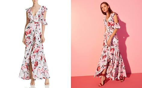 Fame and Partners The Beckman Cold-Shoulder Maxi Dress - Bloomingdale's_2