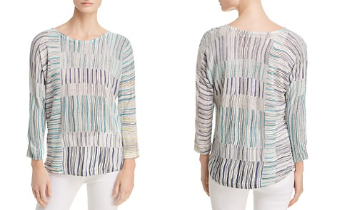 NIC+ZOE Sea Wall Striped Top - Bloomingdale's_2