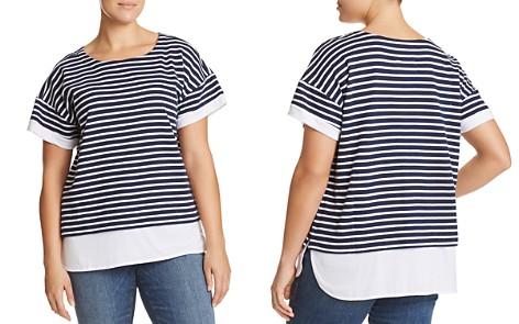 Marc New York Performance Plus Layered Look Stripe Tee - Bloomingdale's_2